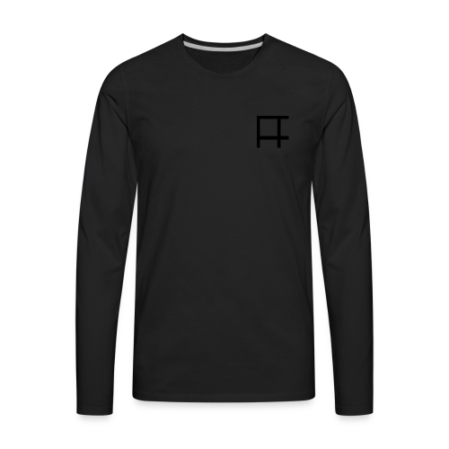 HUGE Logo - Men's Premium Long Sleeve T-Shirt