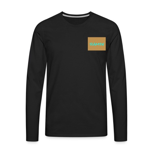 rmh boss 1 is very important because were the best - Men's Premium Long Sleeve T-Shirt