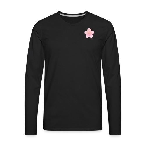 SLIM CHERRY BLOSSOM/ YungBones Merch - Men's Premium Long Sleeve T-Shirt