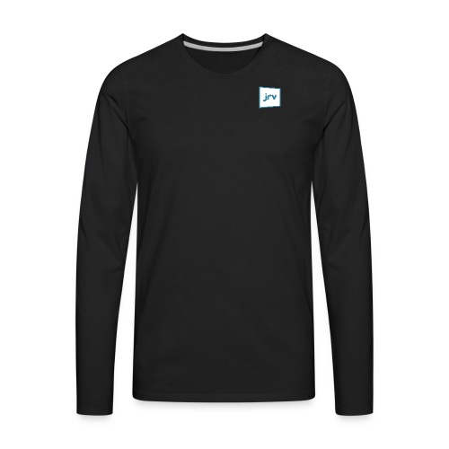 JRV logo - Men's Premium Long Sleeve T-Shirt