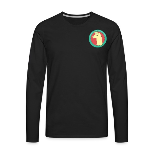 Lazy Llama - Men's Premium Long Sleeve T-Shirt