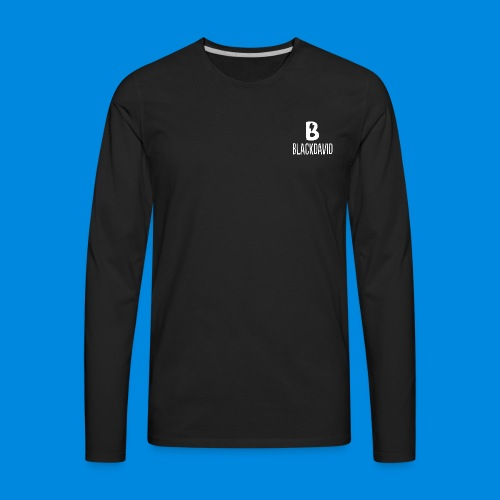 White blackdavid - Men's Premium Long Sleeve T-Shirt