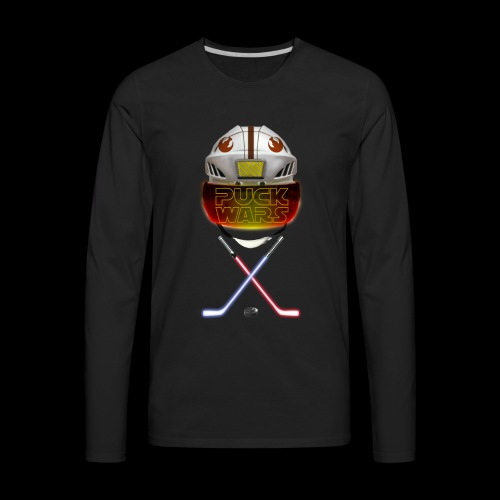 Puck Wars - Rebel - Men's Premium Long Sleeve T-Shirt