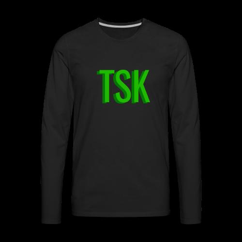 Meget simpel TSK trøje - Men's Premium Long Sleeve T-Shirt