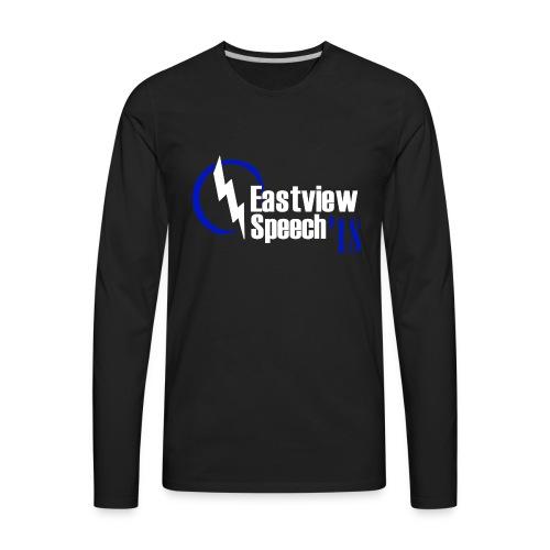 Eastview Speech Logo - Men's Premium Long Sleeve T-Shirt