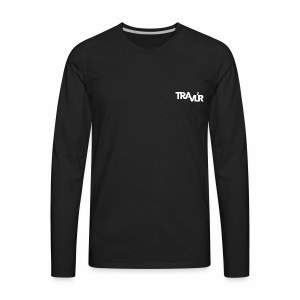 Travlr Logo - Men's Premium Long Sleeve T-Shirt