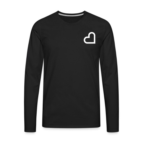 Minder Heart - Men's Premium Long Sleeve T-Shirt