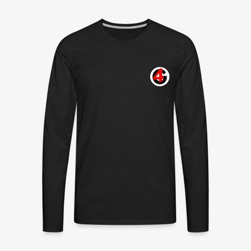4Gamers Standard Merchandise - Men's Premium Long Sleeve T-Shirt