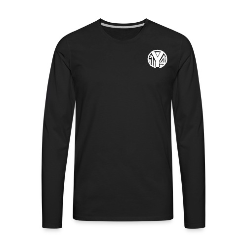 Youtuber14 Logo - Men's Premium Long Sleeve T-Shirt