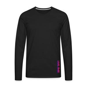 Level Logo - Men's Premium Long Sleeve T-Shirt