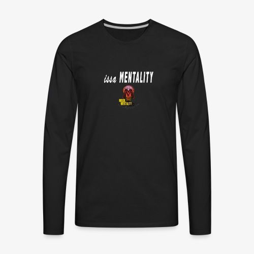issa Mentality Color Logo - Men's Premium Long Sleeve T-Shirt