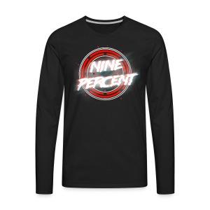 NINE PERCENT T SHIRT - Men's Premium Long Sleeve T-Shirt