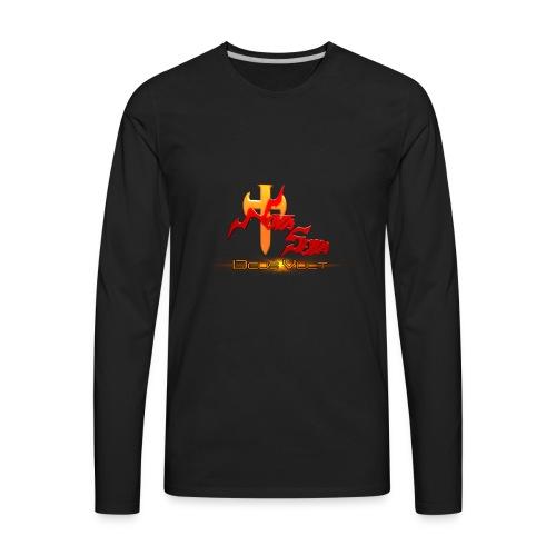 Nova Sera Logo - Men's Premium Long Sleeve T-Shirt