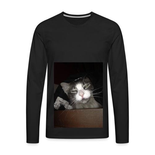 My Cat Melvin - Men's Premium Long Sleeve T-Shirt