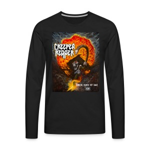 Creeper Reaper Hot Sauce attire - Men's Premium Long Sleeve T-Shirt