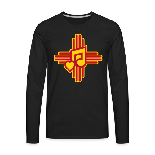 New Mexico Spanish Music - Men's Premium Long Sleeve T-Shirt