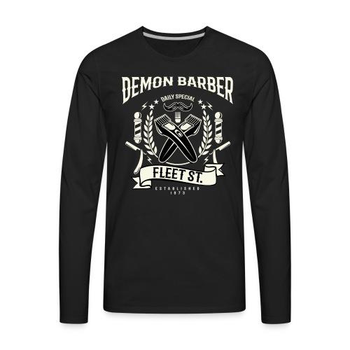 Demon Barber of Fleet Street - Men's Premium Long Sleeve T-Shirt