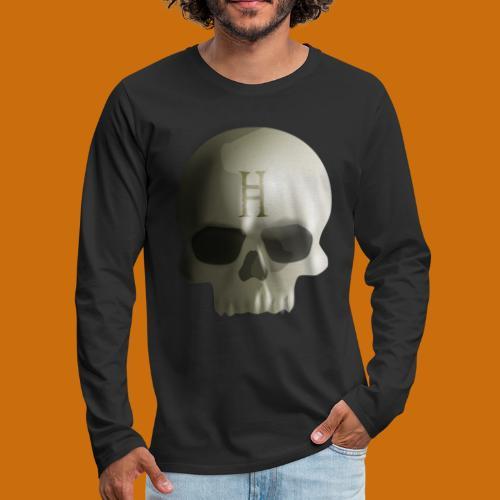 Hell Skull - Men's Premium Long Sleeve T-Shirt
