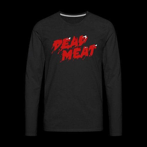 Dead Meat Logo - Men's Premium Long Sleeve T-Shirt