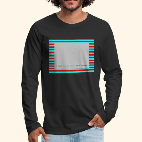 Retro Gaming Tape Loading Error 80s retro revival - Men's Premium Long Sleeve T-Shirt