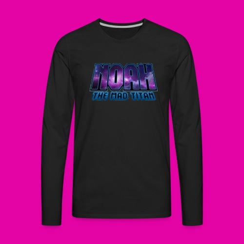 Noah The Mad Titan - Men's Premium Long Sleeve T-Shirt