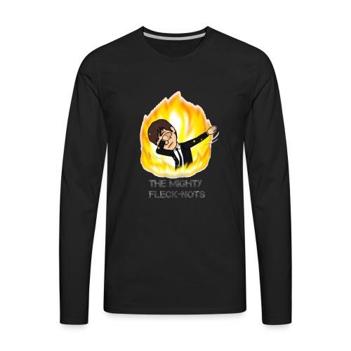 the mighty Fleck Nots - Men's Premium Long Sleeve T-Shirt