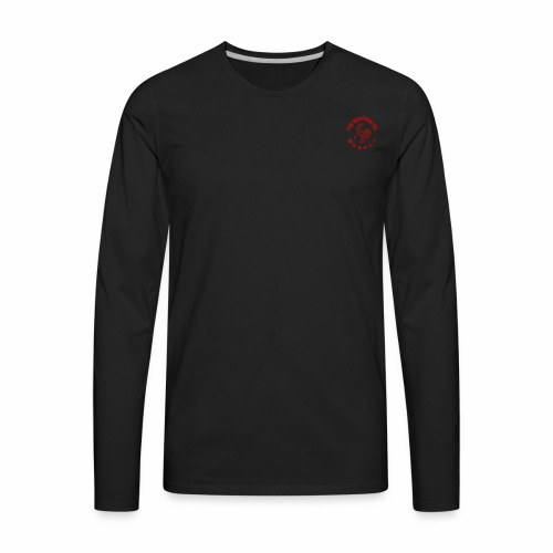 Sriracha logo - Men's Premium Long Sleeve T-Shirt