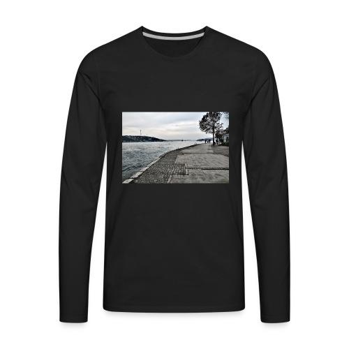 Bosphorus Strait T-shirt - Men's Premium Long Sleeve T-Shirt