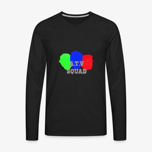 A.T.V Squad Merch - Men's Premium Long Sleeve T-Shirt