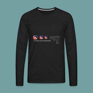 The thing goes skraaa - mans not hot meme tide pod - Men's Premium Long Sleeve T-Shirt