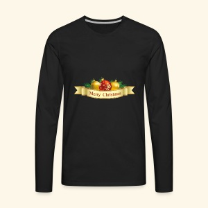 Merry Christmas To All - Men's Premium Long Sleeve T-Shirt