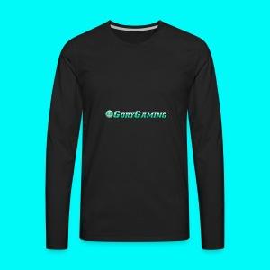 GoryGaming Design With Logo - Men's Premium Long Sleeve T-Shirt