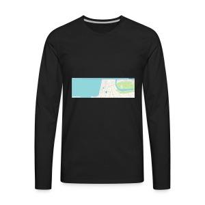 waze - Men's Premium Long Sleeve T-Shirt