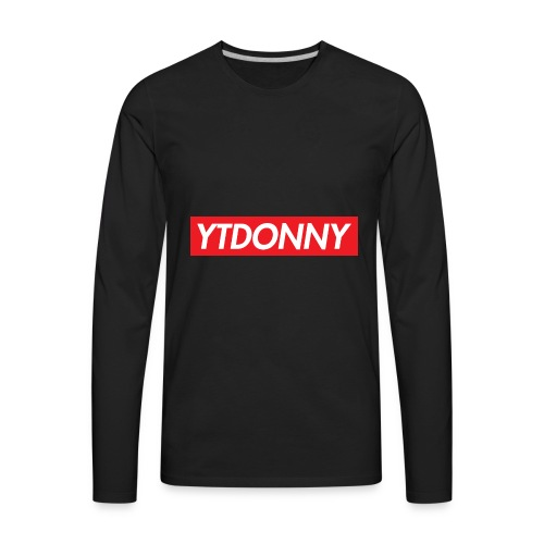 YTDonny Supreme Logo - Men's Premium Long Sleeve T-Shirt