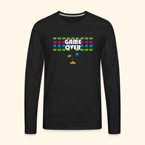 80s Video Games - Men's Premium Long Sleeve T-Shirt