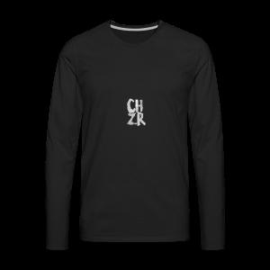CHZR LOGO - Men's Premium Long Sleeve T-Shirt