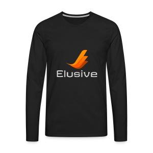 Elusive White - Men's Premium Long Sleeve T-Shirt
