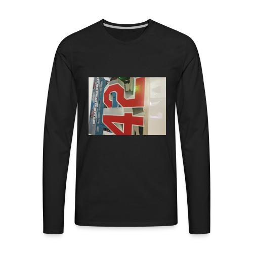 42 - Men's Premium Long Sleeve T-Shirt