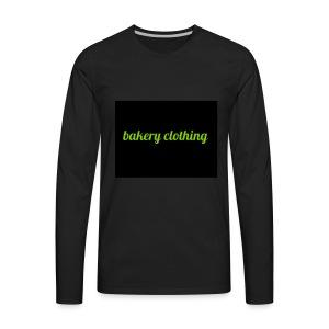 bakery clothing - Men's Premium Long Sleeve T-Shirt