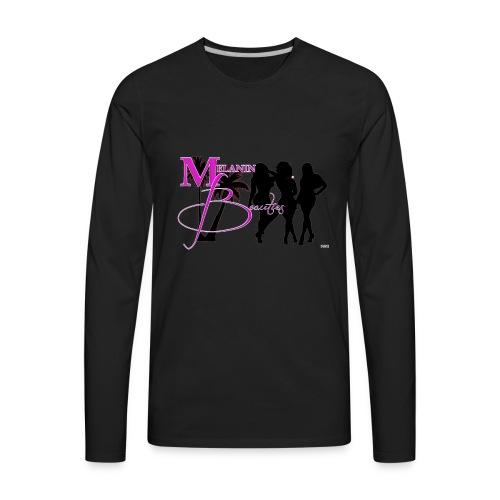 CRAVUS MELANIN BEAUTIES 22 - Men's Premium Long Sleeve T-Shirt