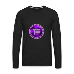 EyelessSaturn LOGO - Men's Premium Long Sleeve T-Shirt