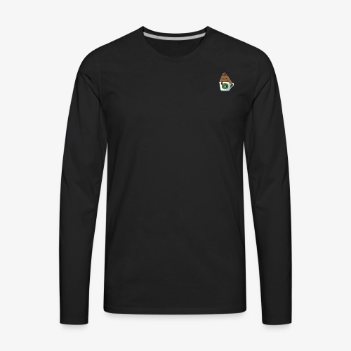 rabbit cafe - Men's Premium Long Sleeve T-Shirt