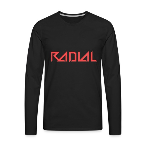Radial_Shirt_Logo2 - Men's Premium Long Sleeve T-Shirt