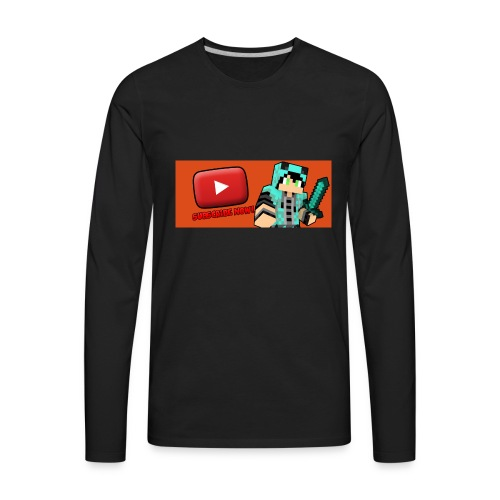 Spoodle's Subscribe Shirt - Men's Premium Long Sleeve T-Shirt