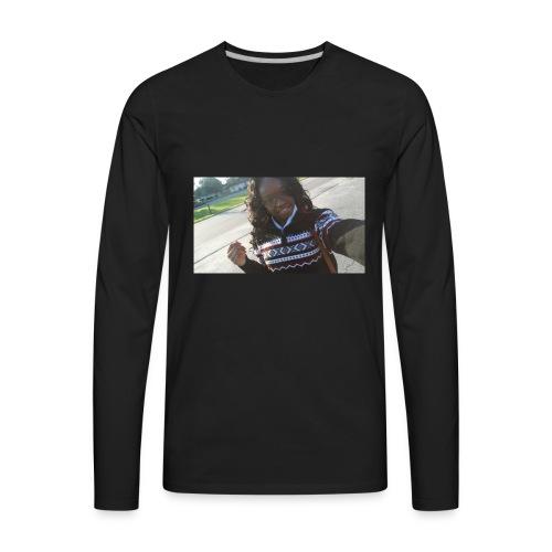 selfie hoodie - Men's Premium Long Sleeve T-Shirt