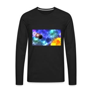 Custom-made planets - Men's Premium Long Sleeve T-Shirt