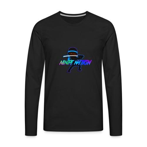 Ninja Nation - Men's Premium Long Sleeve T-Shirt
