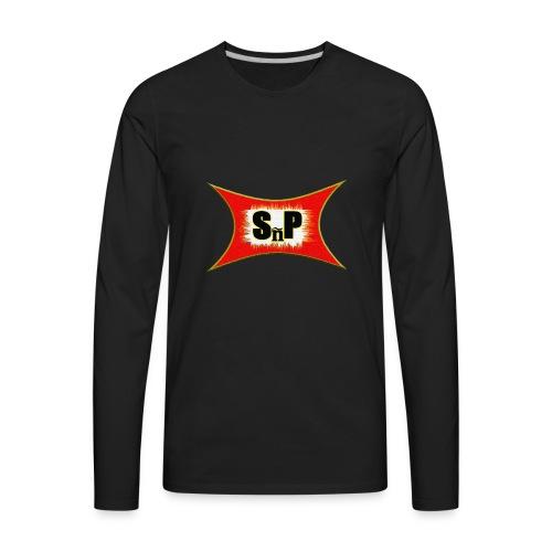 sk8NPLay Logo - Men's Premium Long Sleeve T-Shirt