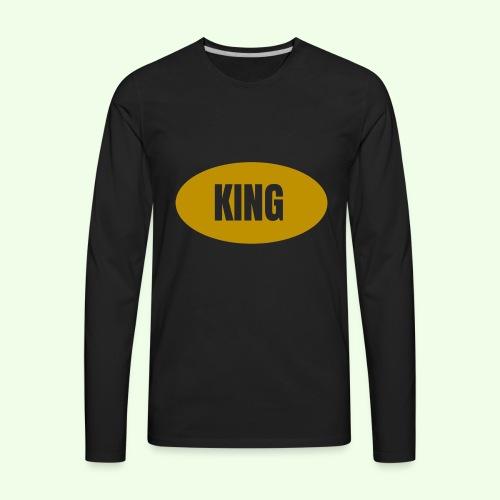 Drake King Design - Men's Premium Long Sleeve T-Shirt