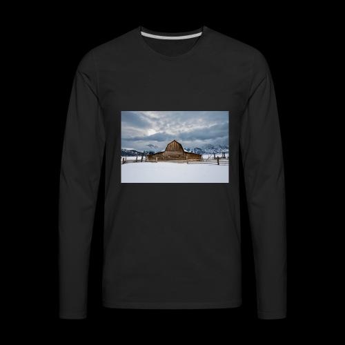 Barn - Men's Premium Long Sleeve T-Shirt